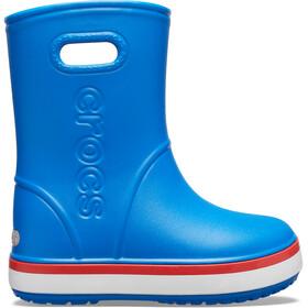 Crocs Crocband Regenstiefel Kinder bright cobalt/flame